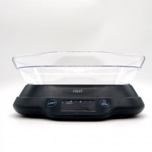 Bilancia cucina digitale 5kg nera