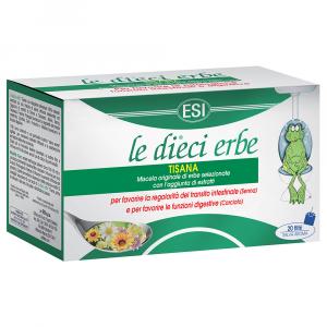 Esi Le Dieci Erbe Tisana 20 Filtri