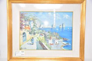 Quadro Dipinto Capri