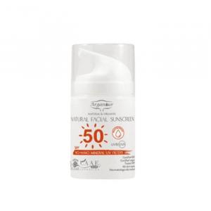 Arganour Natural & Organic Crema Solare Per Il Viso Spf50 50ml