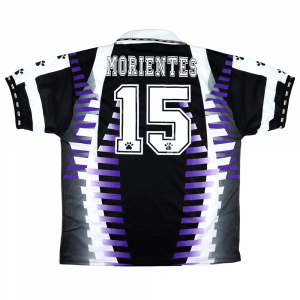 1997-98 Real Madrid Maglia Terza #15 Morientes L *Nuova