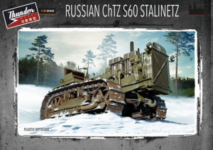 Russian ChTZ S60 Stalinetz