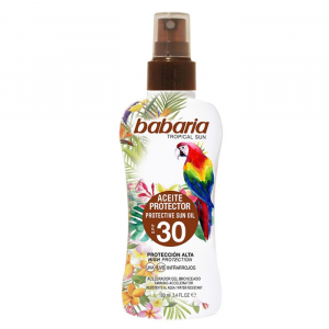 Babaria Tropical Sun Protective Sun Oil Spf30 100ml