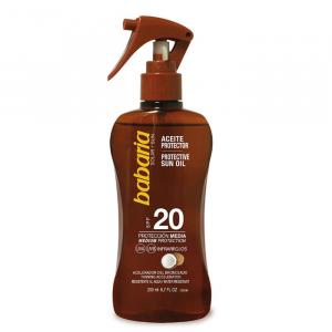 Babaria Coconut Protective Sun Oil Spf20 200ml