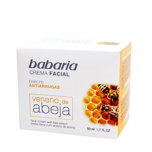 Babaria Face Cream Anti Wrinkle With Bee Venom 50ml