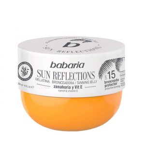 Babaria Sun Reflections Tanning Jelly Protective Tanning Spf15  300ml