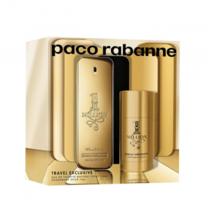 Paco Rabanne 1 Million Eau De Toilette Spray 100ml Set 2 Parti 2020