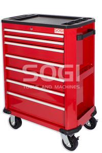 Carrello portautensili cassettiera SOGI X2-04-4 completa di 180 utensili per officina professionali