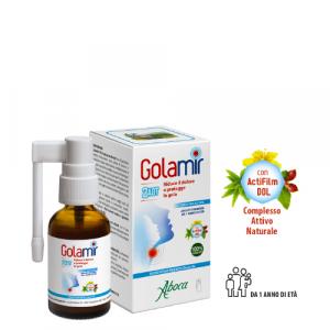 Aboca Golamir 2act Spray No Alcool Flacone da 30 ml