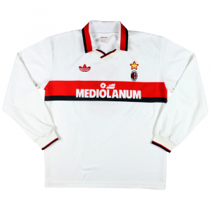 1991-92 Ac Milan Maglia away #9 Van Basten L (Top)