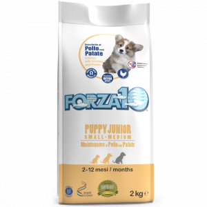 Puppy Junior Maintenance al pollo con patate small/medium