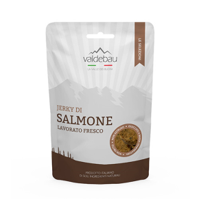 Snacks per cani, 92% di salmone, 90gr