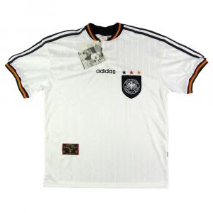 1996-98 Germania Maglia Home L *Cartellino