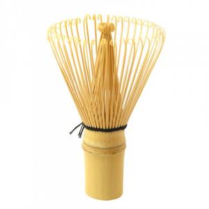 MATCHA Frustino in bambù Chasen con porta frustino in porcellana