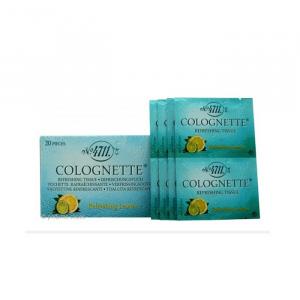 4711 Colognette Refreshing Lemon Tissues 20 Tissues