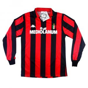 1988-89 AC Milan Maglia Home YS *NUOVA
