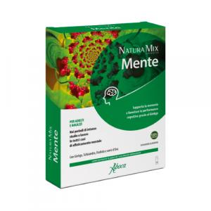 Aboca Natura Mix Advanced Mente – Concentrato Fluido Flaconcini  da 15 g ciascuno
