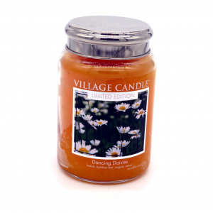 Candela Village Candle Daisies 170h