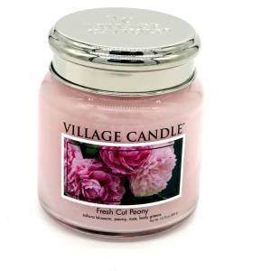 Candela Village Candle Fresh peony 105h