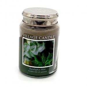 Candela Village Candle Eucalyptus 170h