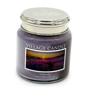 Candela Village Candle lavender 105h