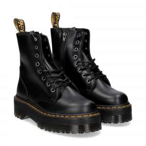 Dr. Martens Anfibio Jadon Black polished smooth