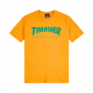 T-Shirt Thrasher Gold Tee