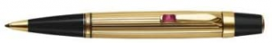 MONTBLANC BOHEME SOLITAIRE GOLD PLATED BALLPOINT