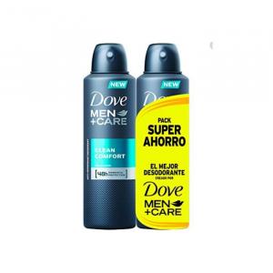 Dove Men Clean Comfort Deodorant Spray 2x200ml