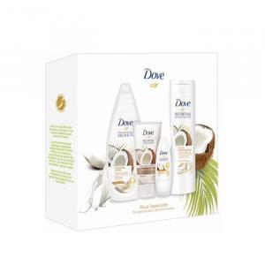 Dove Restoration Ritual Coconut And Almond Set 4 Parti 2020