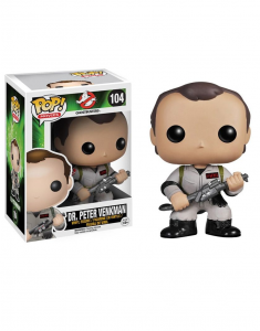 Funko Pop 104: Ghostbusters Dr. Peter Venkman