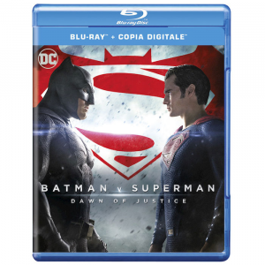 BATMAN vs SUPERMAN Dawn of Justice (Blu-Ray)