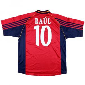 1998-99 Spagna Maglia Home #10 Raul L