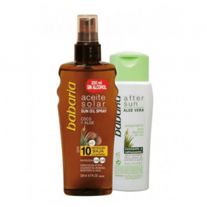 Babaria Sun Protective Sun Oil Spf10 Spray 200ml Set 2 Parti 2020