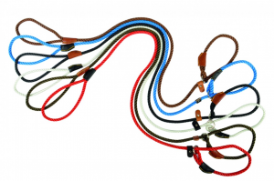 Guinzaglio Retriever in corda 135cm nero