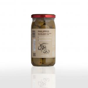 Green Garlic Olives