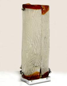 Lampada vintage in vetro di Murano attribuita a Toni Zuccheri