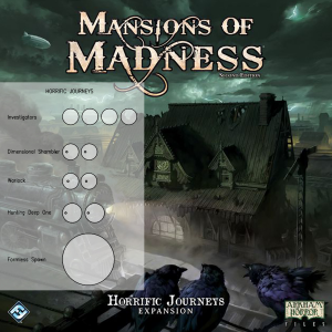 Mansions of Madness 2nd Ed. Horrific Journeys Clear Bases (x11)