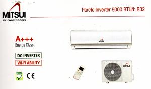 Condizionatore 12000 btu R32 Marca Mitsui Modello Trend A+++ A++ (WI-Fi Optional)