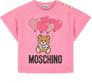 T-shirt Moschino Rosa