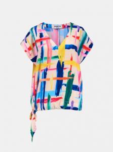 Top Essentiel Multicolore