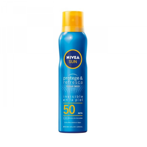 Nivea Sun Spray Solare Protect And Refresh Spf50 200ml