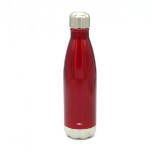 Bottiglia termica rosso lucido 500ml