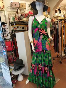 Abito lungo balza e spalline | Abbigliamento Tall da donna