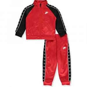 Tuta Nike Swoosh Rossa\Nera Baby