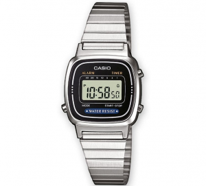 Casio Vintage Mini digitale, silver