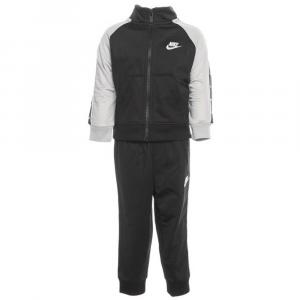 Tuta Nike Swoosh Nera\Grigia Junior