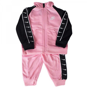 Tuta Nike Swoosh Rosa\Nera Baby