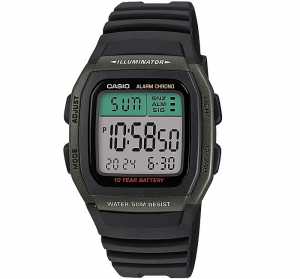 Casio Collection multifunzione, nero e verde