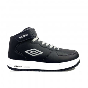 Umbro Basket Mid White Black da Uomo